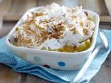 Apfelkompott mit Cookie-Baiser Rezept