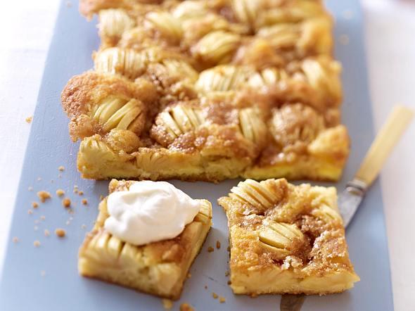 Apfelkuchen mit Karamellkruste Rezept