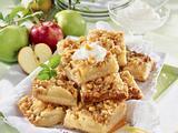 Apfelkuchen mit Krokant-Streuseln Rezept