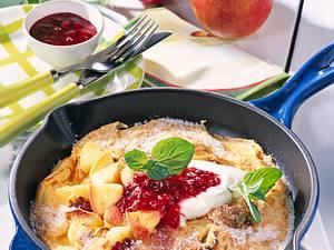 Apfelpfannkuchen mit Zimt Rezept