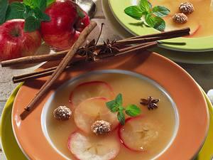 Apfelsuppe Rezept