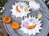 Aprikosen-Baiser-Margeriten Rezept