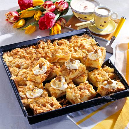 Aprikosen-Becherkuchen Rezept