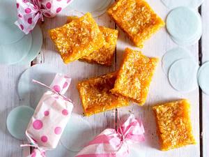 Aprikosen-Grapefruit-Toffees Rezept