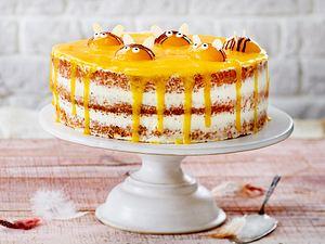 Aprikosen-Hummel-Torte Rezept