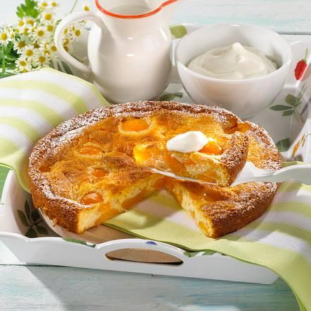 Aprikosen-Joghurt-Tarte Rezept