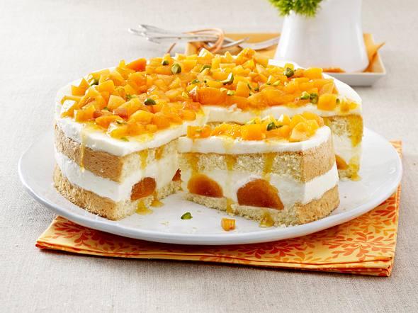 Aprikosen-Joghurt-Torte Rezept