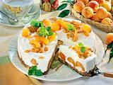 Aprikosen-Joghurt-Torte mit Crunchy-Nut-Boden Rezept