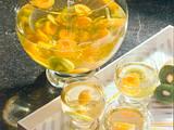 Aprikosen-Kiwi-Bowle Rezept
