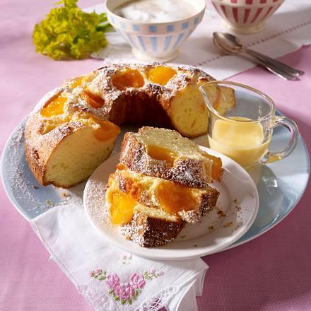 Aprikosen-Kranz-Kuchen Rezept