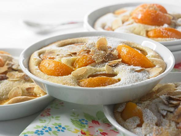 Aprikosen-Mandel-Soufflé Rezept