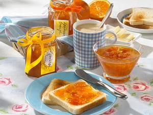 Aprikosen-Orangen-Konfitüre Rezept