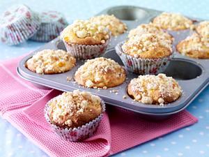 Aprikosen-Quark-Muffins mit Streuseln Rezept