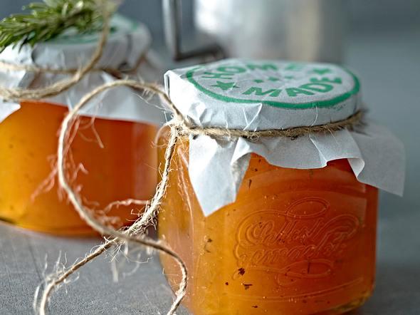 Aprikosen-Rosmarin-Konfitüre Rezept