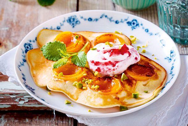 Aprikosenpfannkuchen Rezept