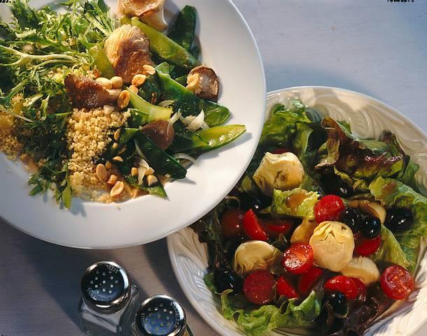 Artischocken-Oliven-Salat Rezept