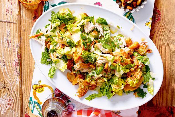 Asia-Caesar-Salad Rezept