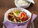 Asia-Chicorée aus dem Wok Rezept