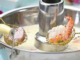 Asiafondue: Fisch & Fleisch in Kokosmilch Rezept