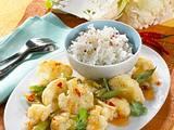 Asiatische Blumenkohl-Pfanne Rezept
