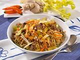 Asiatische Bratnudeln mit Rindfleisch Rezept