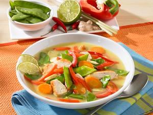 Asiatische Gemüsesuppe Rezept