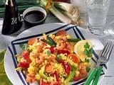 Asiatische Reispfanne Rezept