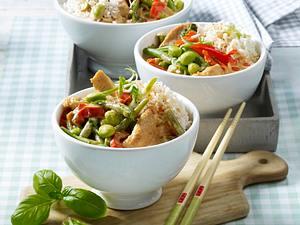 Asiatisches Bohnen-Curry Rezept