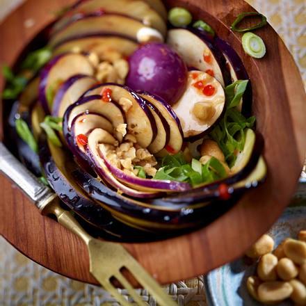 Auberginen-Salat Rezept