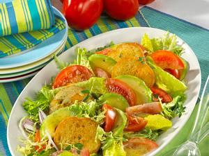 Avocado-Brotsalat Rezept