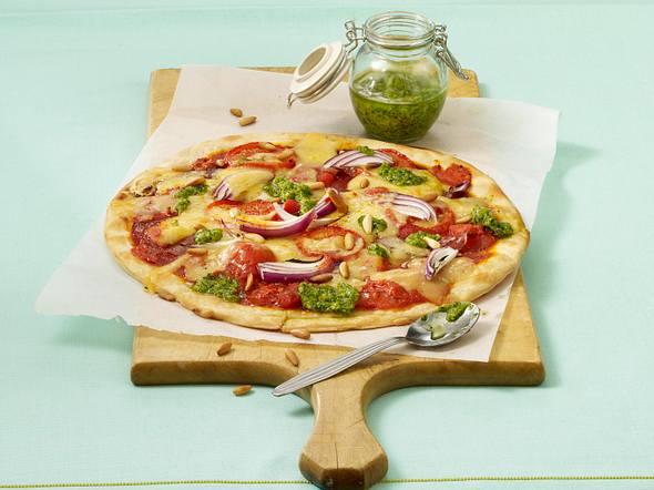 Bärlauch-Pizza Rezept