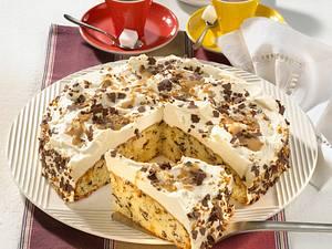 Baileys-Krokant-Kuchen (weniger Likör) Rezept
