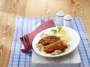 Balkan-Röllchen mit Sauerkraut Rezept