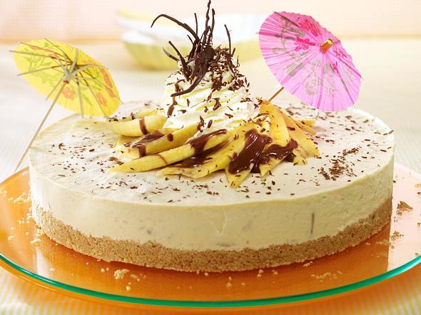 Banana-Split-Torte Rezept