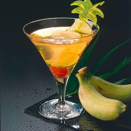 Bananen-Cocktail Rezept