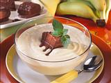 Bananen-Creme mit Schoko Rezept