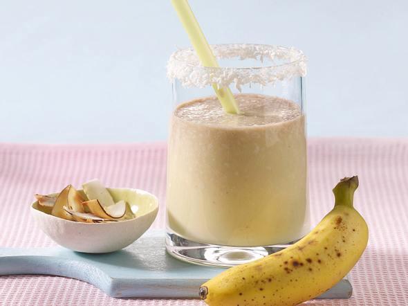 Bananen-Kokos-Shake Rezept