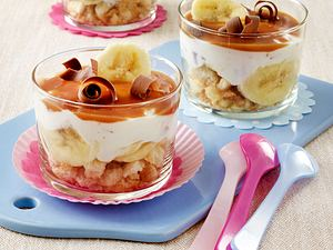 Bananen-Quark-Stracciatella-Trifle Rezept