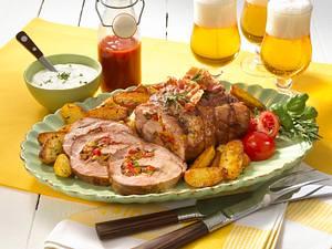 Barbecue-Rollbraten Rezept