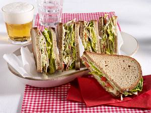 Barbecue-Sandwich Rezept