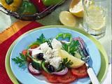 Bauernsalat mit Fetakäse Rezept
