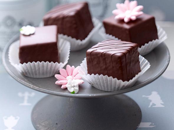 Baumkuchen-Petits-Fours Rezept