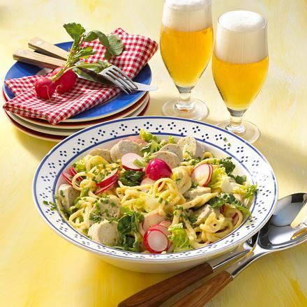 Bayerischer Spätzlesalat Rezept