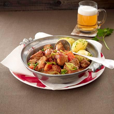 Bayerisches Biergulasch Rezept