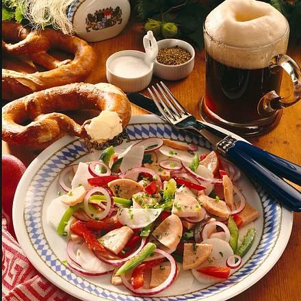 Bayrischer-Rettich-Wurst- Salat Rezept