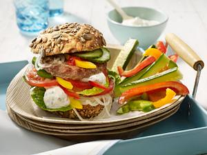 Beef-Burger Rezept
