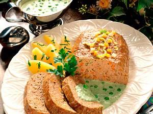 Beefsteak-Hackbraten mit Suppengrün Rezept
