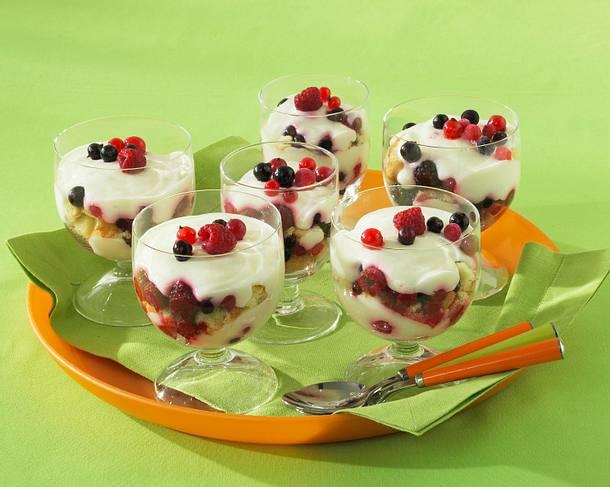 Beeren-Trifle Rezept
