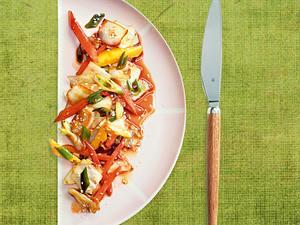 Beilagen: Knackiges Wokgemüse Rezept