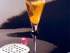Big Apple Calvados-Sekt-Cocktail Rezept